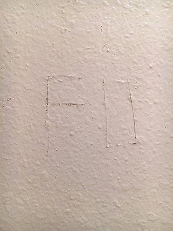 """Super 8 by Wyndham Laramie : """"FU"""" graffiti in our bathroom"""