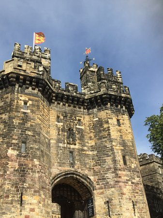 Lancaster Castle: Well protected.