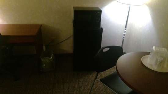 Econo Lodge Beckley: Fridge and microwave