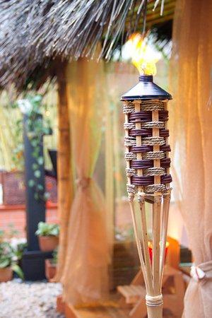 Brassia Estetica y spa: Bamboo kiosks that combine with the natural environment // kioskos en bambú combinan con lo natu