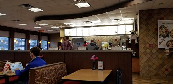Chick-fil-A: Seating and Order Counter