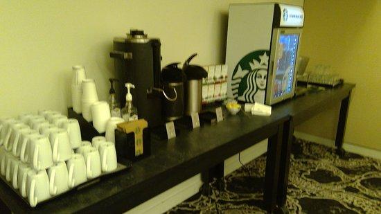 Westlake, TX: Beverage in the meeting room
