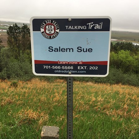 New Salem, ND: Sign
