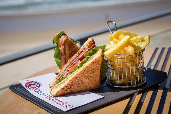 Coolum Beach, Australia: The most Ultimate Steak Sandwich on the coast!