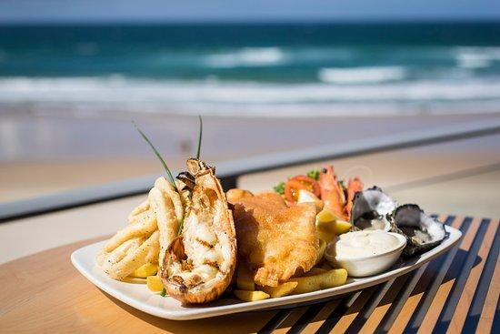 Coolum Beach, Australia: The best seafood plate on the coast!