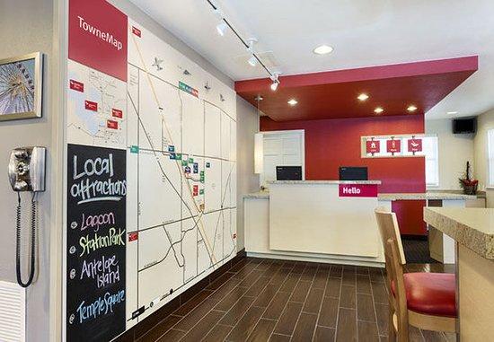 TownePlace Suites Salt Lake City Layton: Map