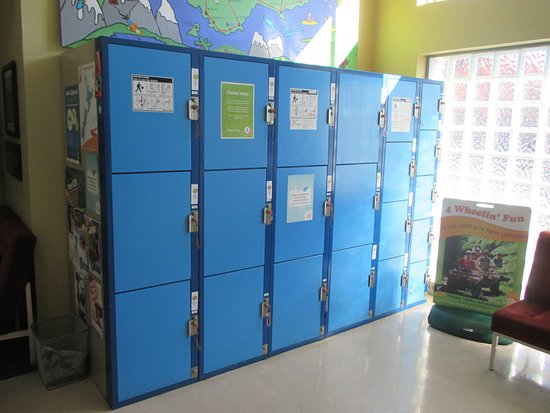 YHA Nelson by Accents: Lockers available