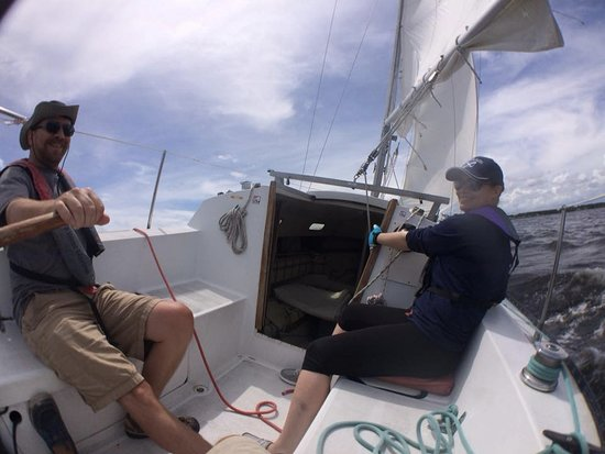 Oriental's School of Sailing: Getting in the groove on a C&C 24