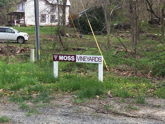 Dyke, VA: small entreance sign