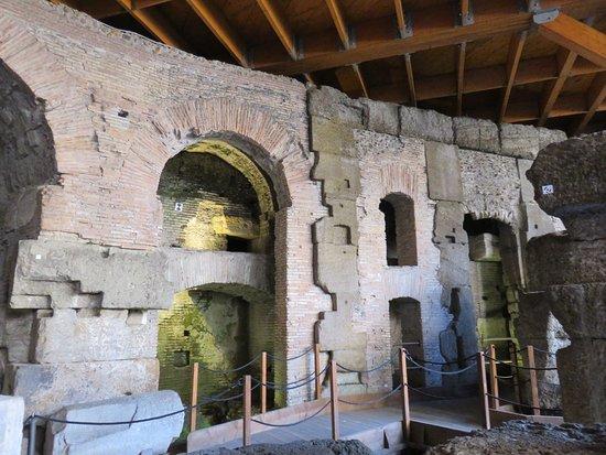 Small-Group Tour: Colosseum Underground: underground