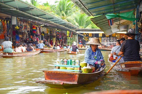Floating Markets of Damnoen Saduak...