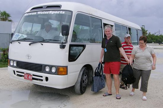 Grand Cayman Private Customized Bus...