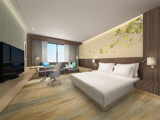 Shiyan, Cina: Guest room