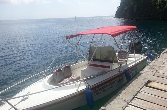 St Lucia Private Speedboat Soufriere...