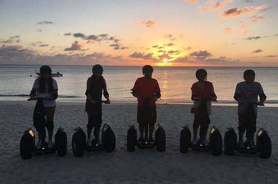 Cayman Islands Seven Mile Beach Sunset Segway Tour