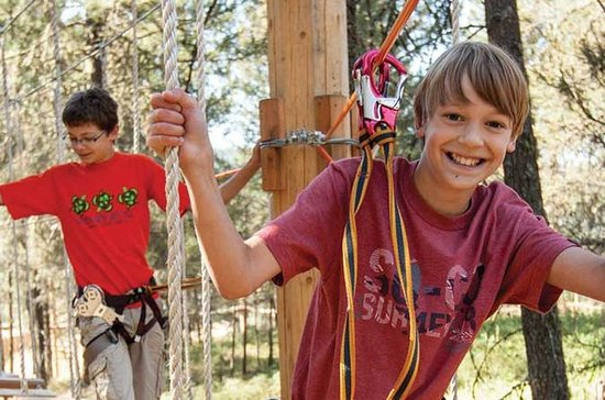 Victoria Kids Aerial Adventure Course