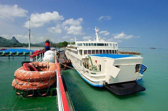 Bangkok to Koh Phangan by Thai Sriram Coach and Big Ferry
