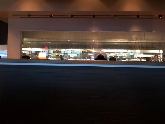 Bristol Seafood Grill: View of the kitchen