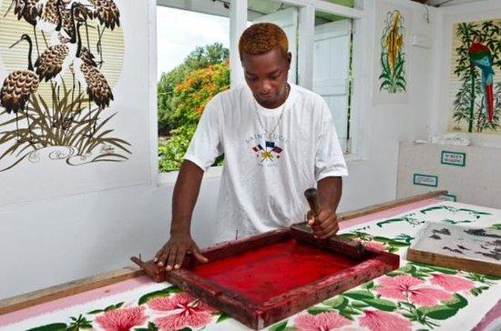 St. Lucia Halbtages-Shopping-Erlebnis