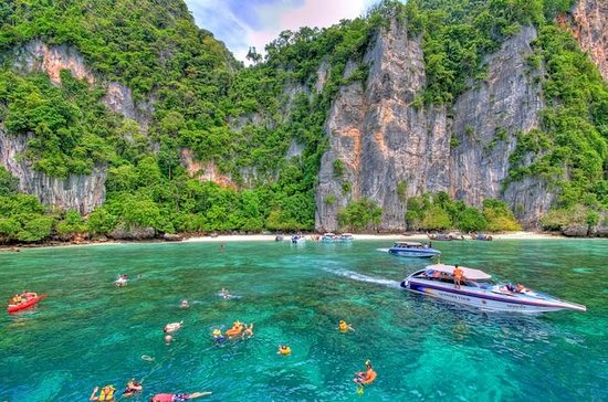 Full-Day Phi Phi Islands Speedboat Tour from Phuket