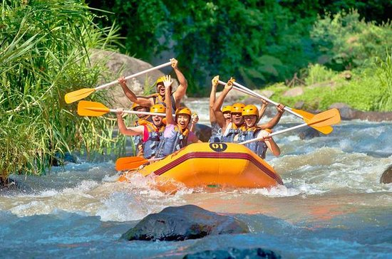 Phuket River-Rafting, ATV, Zipline e