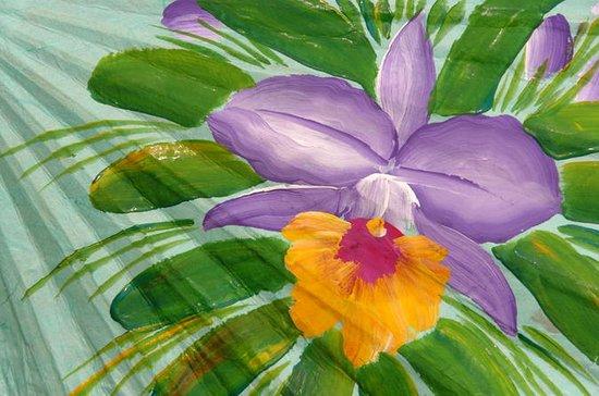 Halv-dagers thai blomsterkunst og...