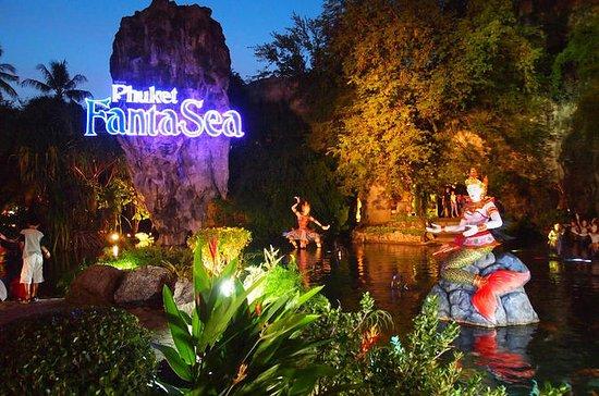 Boleto del parque temático Phuket FantaSea