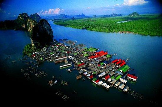 Tour di Phang Nga in pullman e barca