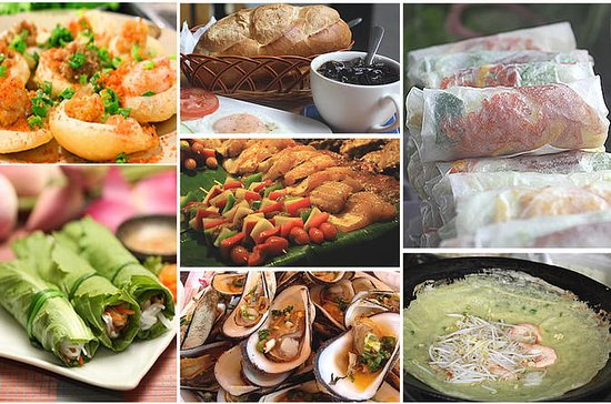 Tour gastronomico di Saigon in moto