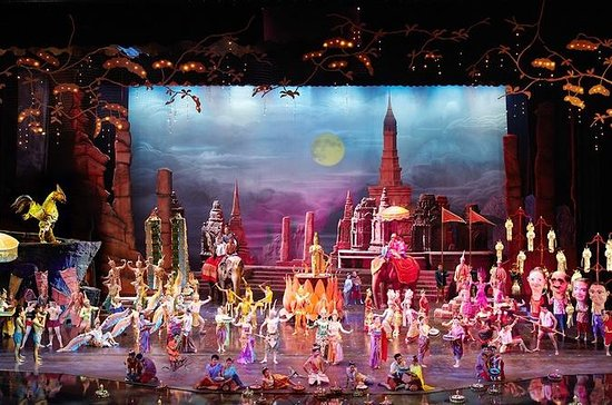 Siam Niramit Theatre Show in Bangkok...