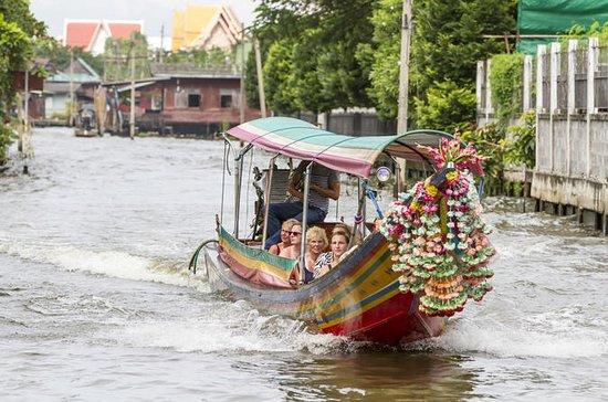 Bangkok Tuk Tuk y Bangkok Canal Tour incluido almuerzo tailandés