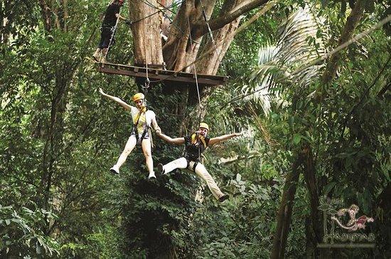 Flying Hanuman Zipline Experience