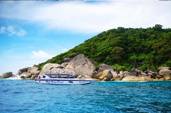 Full Day Tour Similan Island Speed...