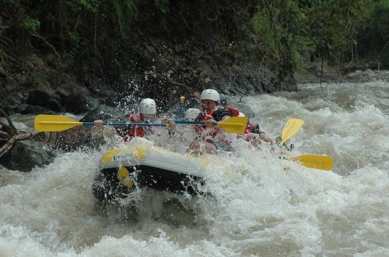 Phuket Adventure with White Water Raftnig Monkey cave Flying Fox and Waterfall