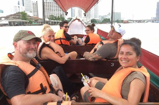 Bike and Boat Combo-Tour of Bangkok