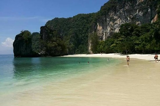 Canoeing PhangNga and swimming at...