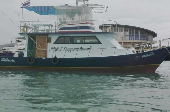 Charter Fishing boat from Chalong...