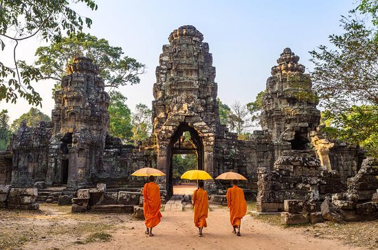3D2N-Angkor Wat Small Group Tour fra...