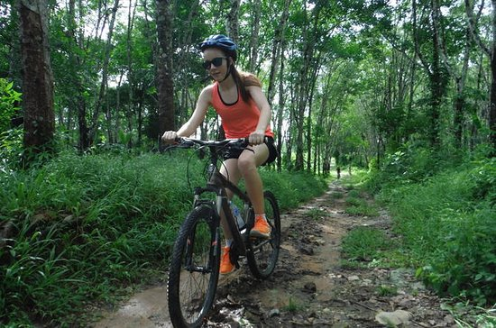 Phuket Countryside half day bike tour
