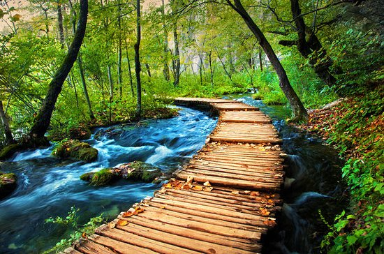 Ekonomi Plitvice Lakes Tour från Split