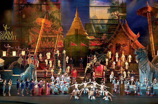Siam Niramit show Bangkok with private transfer and buffet dinner