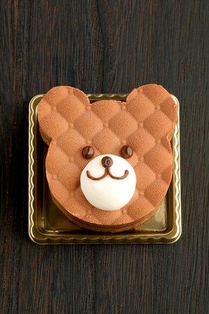 Criollo Nakameguro: ヌヌースジュニアはかわいいだけじゃなくチョコレートの味を堪能できるチョコレートのケーキ