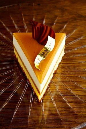 Criollo Nakameguro: 世界コンクール優勝ケーキ「ガイア」は当店の一番人気の一人サイズ用のケーキです。