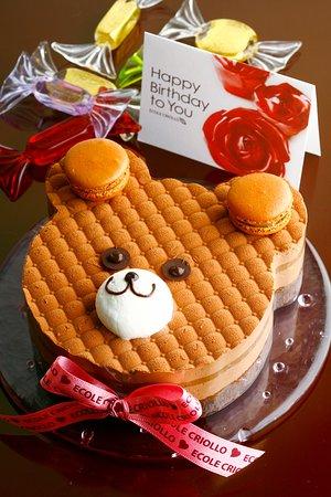 Criollo Nakameguro: バースデー用のホールケーキも各種ご用意しております