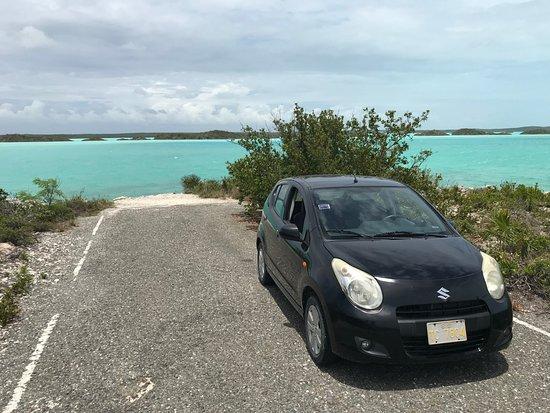 Chalk Sound: Our Car