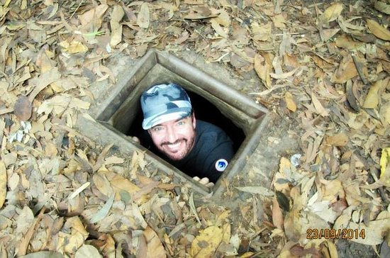 Ho Chi Minh city to Cu Chi tunnels by...