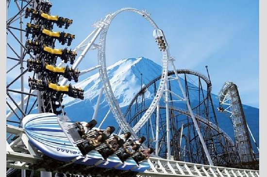 Fuji-Q Highland Full-Day Pass with...