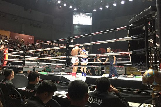 Muay Thai Ticket (VIP Ringside seat) with Tour guide
