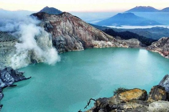 Ijen Vulkan Ubud Spectacular über...