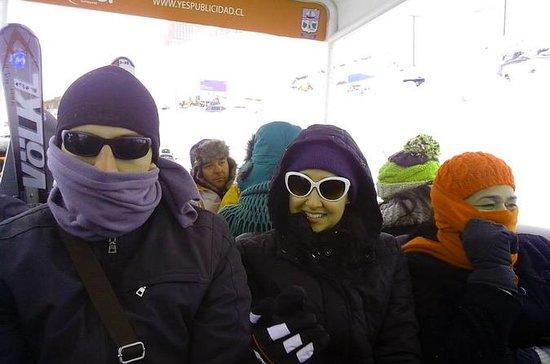 Día de esquí en Valle Nevado (sin...